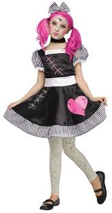 Halloween Baby Doll Costumes Halloween Fancy Dress Rag Doll Divascuisine
