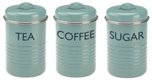 vintage kitchen canister vintage kitchen canister set coffee tea sugar blue food