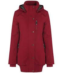 bench razzer lyst bench razzer ii hooded parka jacket in red