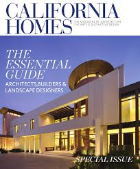 california homes essential guide to architects builders