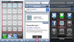 Iphone 5 Symbols On Top Bar How To Customize Your Home Screen U0027s Layout With Blank App Icons