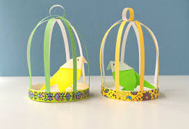 How To Decorate A Birdcage Home Decor How To Make A Paper Bird Cage Youtube
