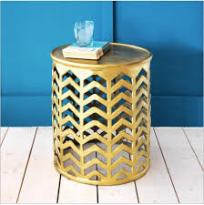 Zara Home Side Table 15 Statement Making Gold Side Tables Available Online Now U2014