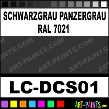 schwarzgrau panzergrau ral 7021 german tanks wwii set airbrush