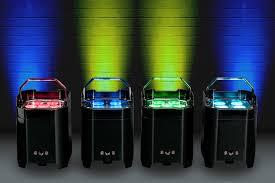 Up Lighting Fixtures Adj Introduces New Range Of Battery Powered