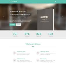 ebook layout inspiration modern responsive website templates for selling books