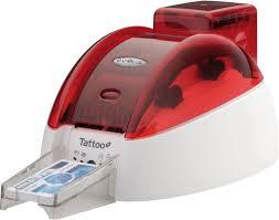 tattoo id card printer evolis tto201fru id card printer best price available online