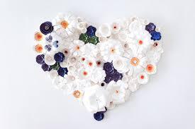 paper flower wedding anniversary by knot u0026 pop wedding