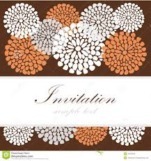 post card invitation wedding birthday card or invitation with abstract lace floral