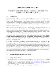 Template For Requesting Letter Of Recommendation by Fingerprints Request Lettervolunteer Police Clearance Request