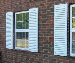 decorative vinyl exterior shutters louvered decorative vinyl