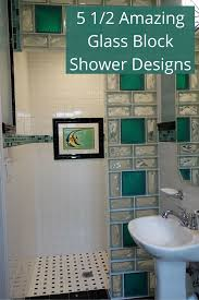 glass block designs for bathrooms 5 unique glass block shower designs in california ohio
