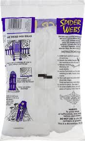 cobweb spray for halloween fun world spider web 2 1 oz walmart com