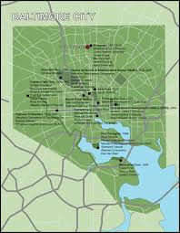 Map Of Baltimore Md Welcome To Evergreen Commons