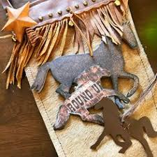 cowboy rodeo ornaments look great on all kinds of trees