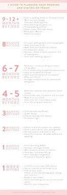 things to plan for a wedding best 25 wedding planning timeline ideas on engagement
