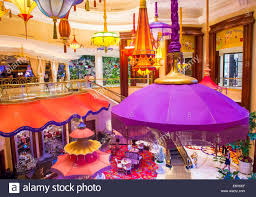 Buffet At The Wynn by The Parasol Bar At The Wynn Hotel And Casino In Las Vegas Stock