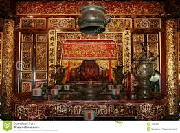 chinese interior stock photo image of ancestor candle 7960140