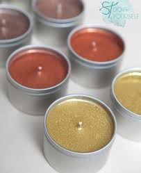 how to make diy glitter tin candles it s easy tin