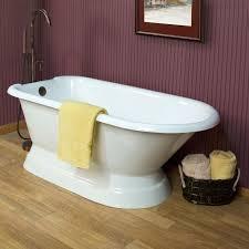 bathtubs idea awesome pedestal bathtubs bathtubs freestanding 60