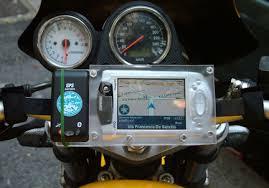 porta navigatore auto navigatore artigianale per moto