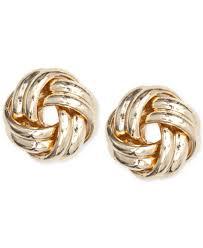 knot earrings knot earrings shop for and buy knot earrings online macy s