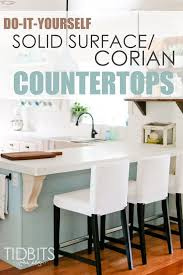 Kitchen Countertops Ideas by Top 25 Best Solid Surface Countertops Ideas On Pinterest Corian