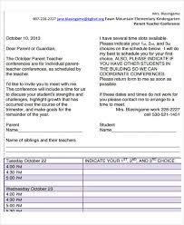 7 teacher letter templates 7 free sample example format