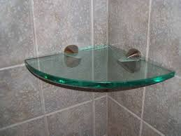 Glass Shelves For Kitchen Cabinets Floating Glass Shelf Brackets Wall Glass Shelf Brackets Gallery