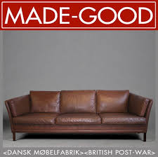Leather Sofa Ebay 23 Best Scandi Style Retro Leather Sofa Images On Pinterest
