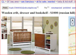 can you sell drop side cribs on craigslist anymore no hell no