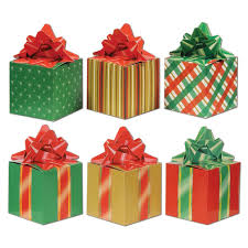christmas boxes beistle 3 pack christmas party favor boxes 3 1 4 inch