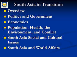 south asia in transition ppt download