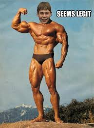 Muscle Memes - seems legit muscle wazza quickmeme