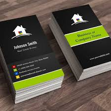 make your own real estate business card real estate broker
