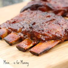 slow cooker honey garlic u0026 ginger ribs u2014 mmm is for mommy