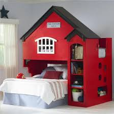 Fire Truck Bunk Bed Fire Station Bed