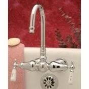 Wall Mount Clawfoot Tub Faucet Tub Wall Bathroom Wall Mount Faucets Classic Clawfoot Tub
