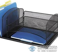 Wire Mesh Desk Organizer Mesh Desk Tray Organizer Mesh Desk Tray Organizer Supplier Wuzhou