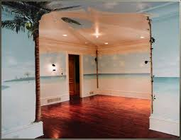 island bedroom wall and ceiling mural tropical island bedroom by visionary mural co