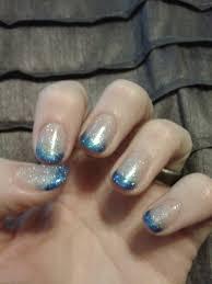 gelish soak off gel nail polish night shimmer and simple sheer