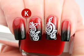 week of love valentine u0027s nail art challenge roses kerruticles