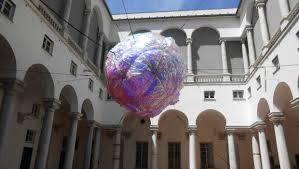il cortile genova tom罌s saraceno genova palazzo ducale genova 2014 installazione