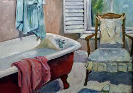 clawfoot tub watch me paint