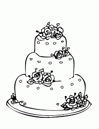 printable birthday cakes coloring