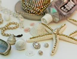 how to make a seashell crown with a dollar store plastic tiara and