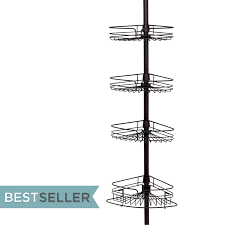 4 tier shower caddy instructions best showers design tension pole shower cads zenith home corp zpc