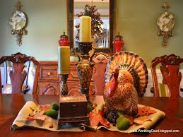 home element viewing gallery thanksgiving dinner table decoration