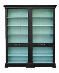 Ikea Billy Bookcase Glass Door Storage Bookcase With Doors Foter