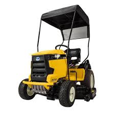 cub cadet sunshade for xt1 and xt2 tractors 19a30021100 the home